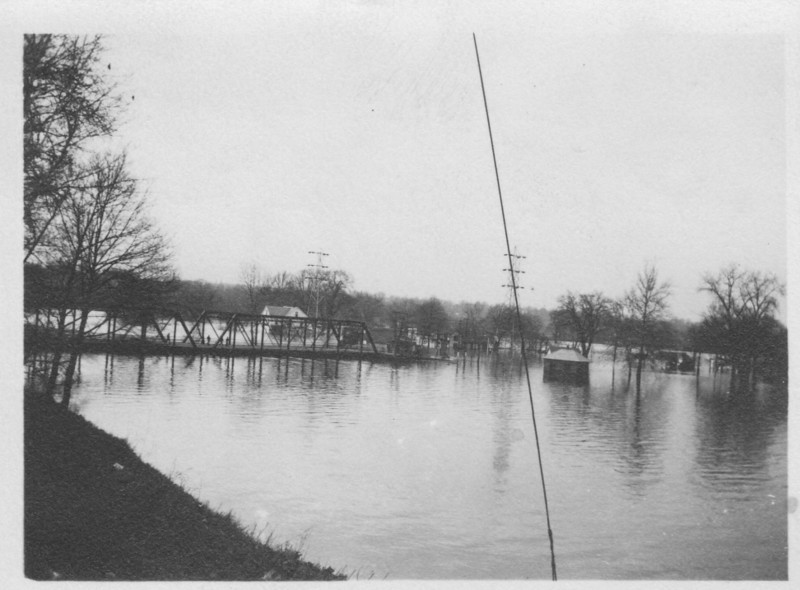 Agawam Bridge Looking Upstream 1936
