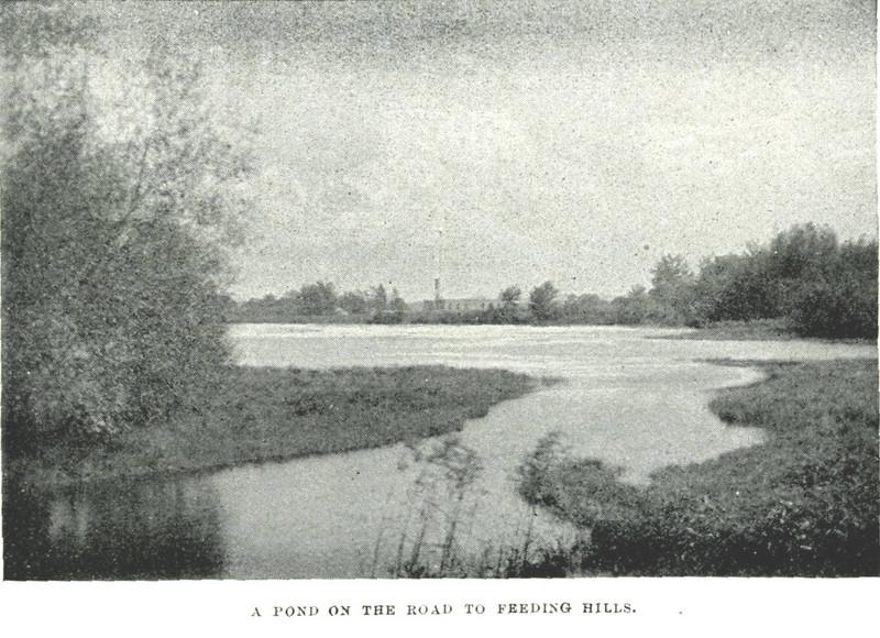 Agawam Pond on Rd to Feeding Hills