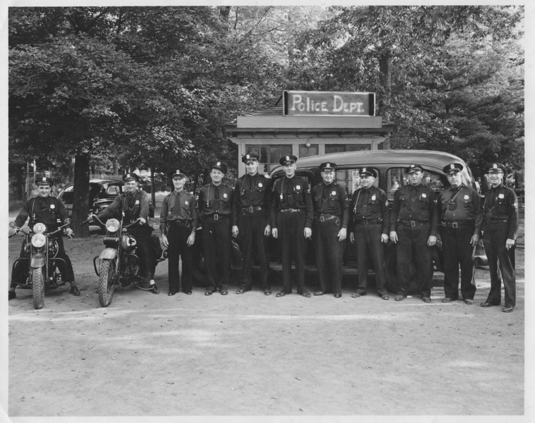 Riverside Park 1945 Ag Aux Police