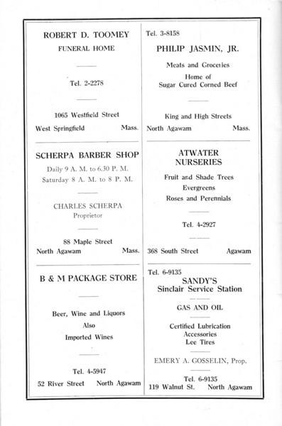 Agawam 1936 Ads 10
