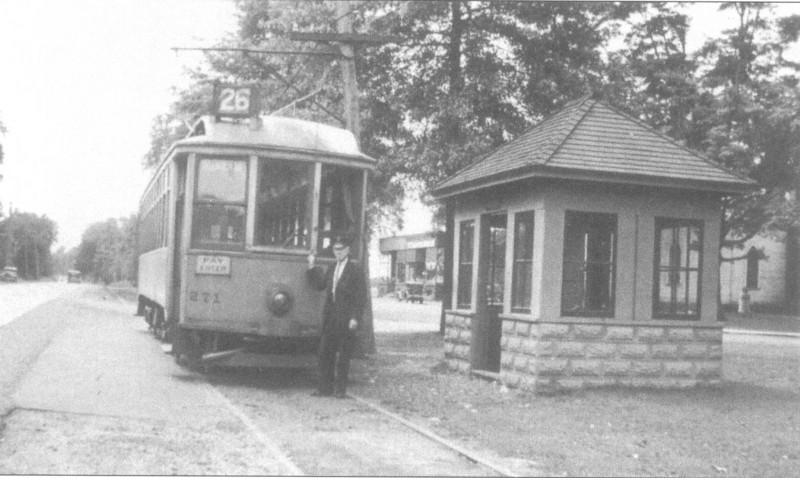 Agawam 1936 Trolley Stop
