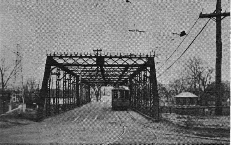 Agawam W S Bridge with Trolley