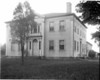 This image of the Fowler House (now the Capt. Charles Leonard House) is from the original glass negative that is part of a collection of pictures taken by Rev. Hollis A. Campbell in Agawam and Feeding Hills during 1895 and 1896.  These are the oldest known pictures of Agawam and Feeding Hills.  To see more detail click on the picture and enlarge it.
