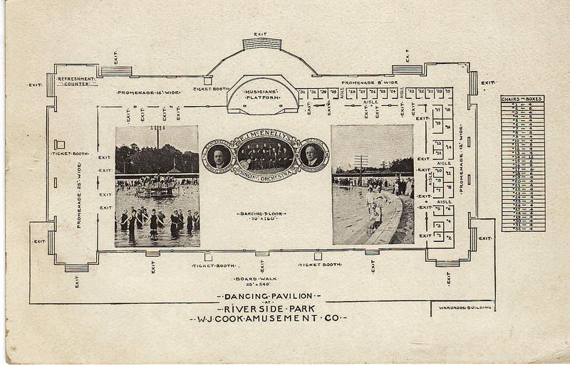 Agawam Riverside Pavilion Drawing