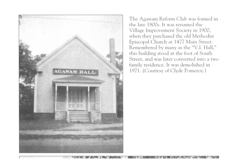 "This is one of the images from the ""Agawam and Feeding Hills"" book that David Cecchi did for the Agawam Historical Association."