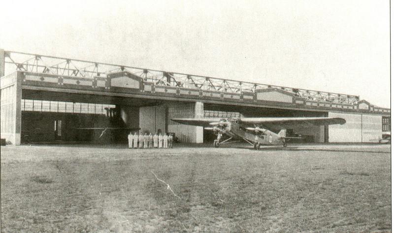 Agawam Bowles Airport hanger