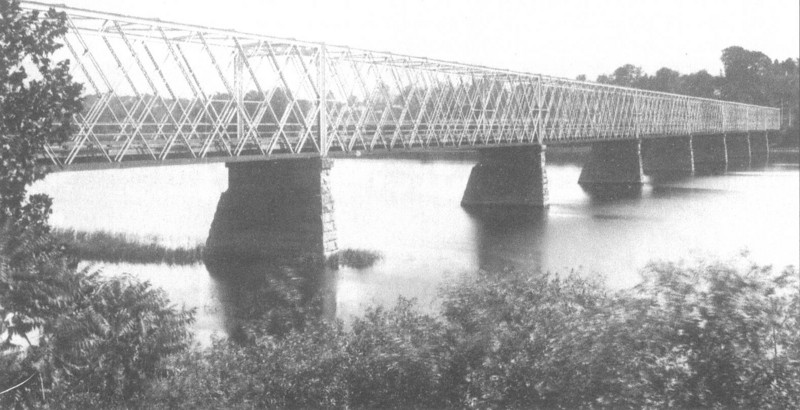 Agawam So End Bridge  1879