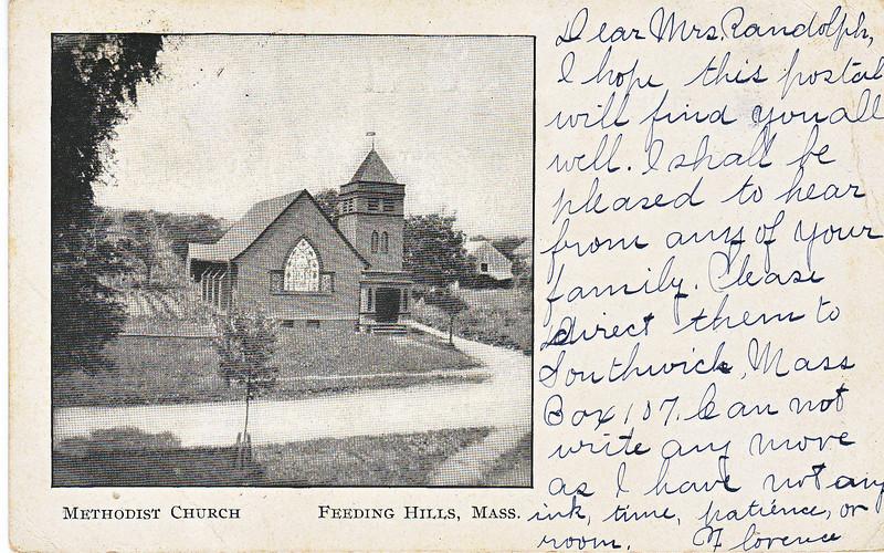 Agawam Feeding Hills Methodist Church 2
