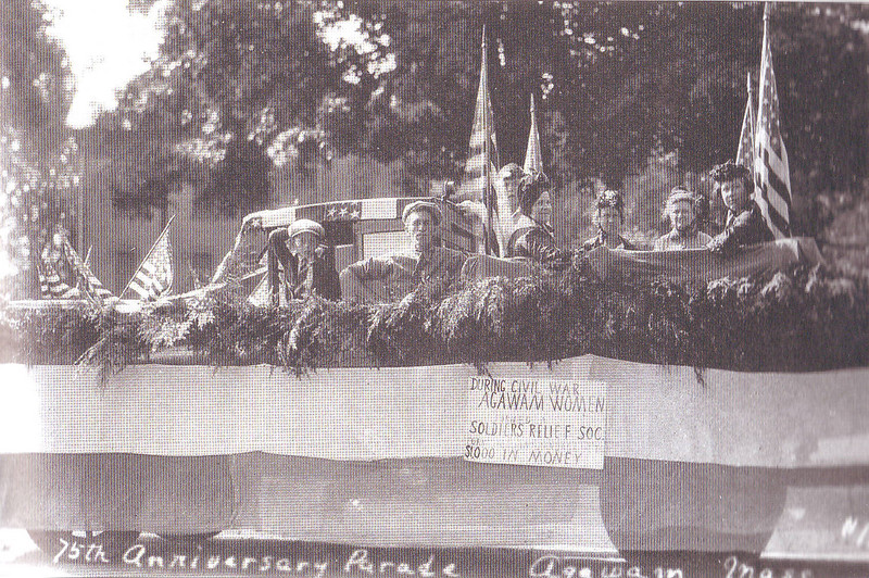 Agawam  Soldier's Relief Float