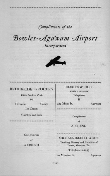 Agawam Ad 75th Ann Book 7