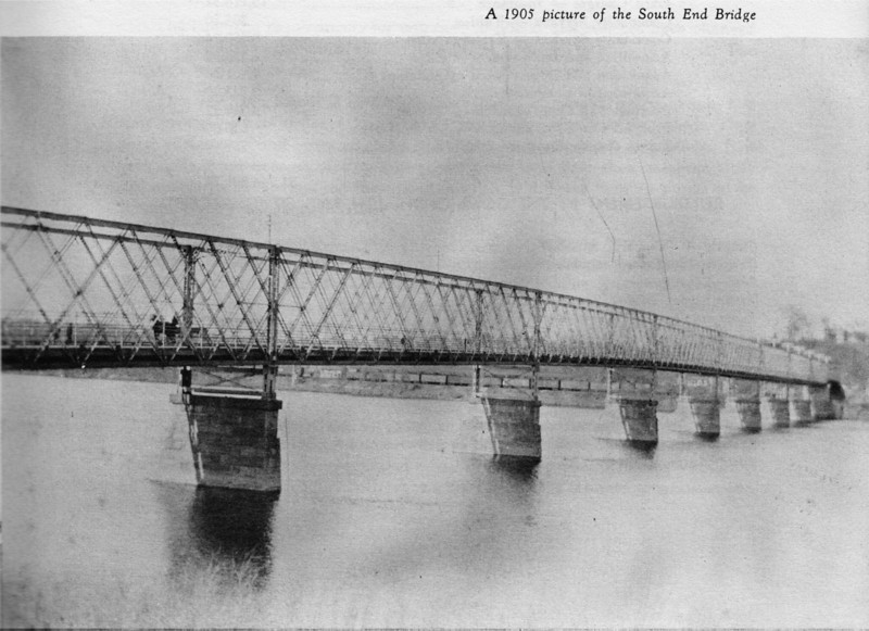Agawam So End Bridge 1905