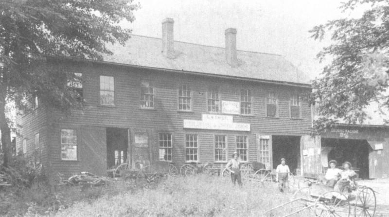 Feeding Hills House C W Twist Blacksmith