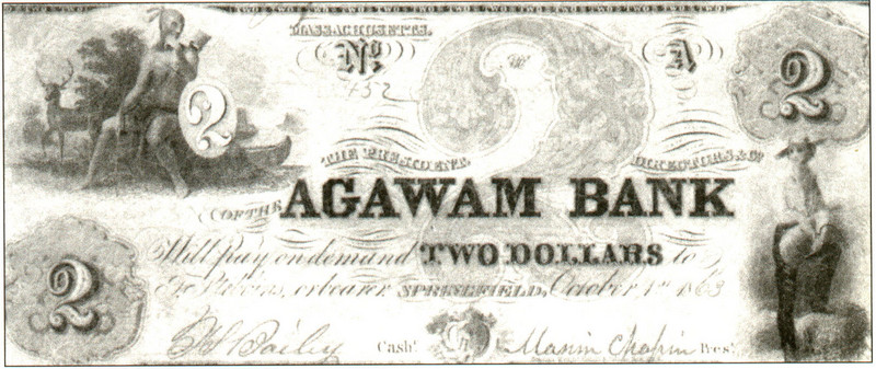 Agawam Agawam Bank Note