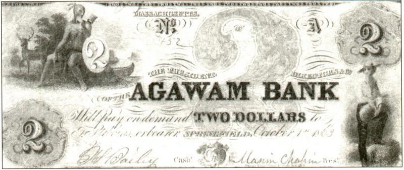 Agawam Agawam Bank Note