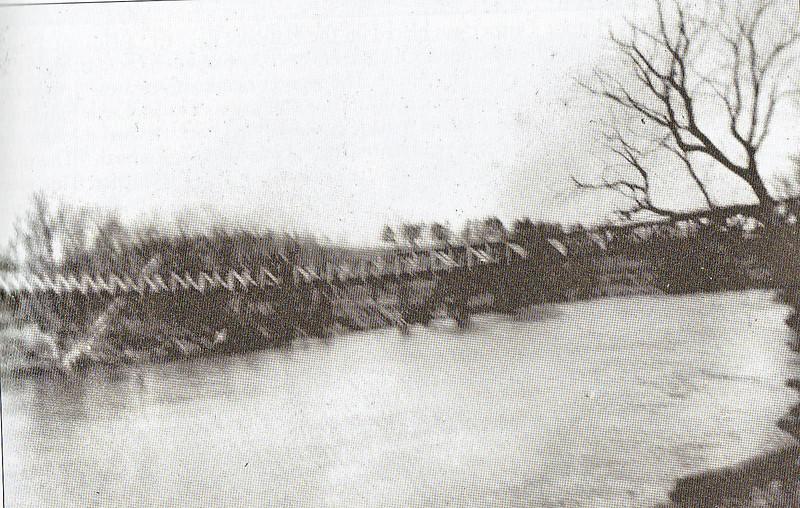 Agawam Footbridge Agawam River 1908