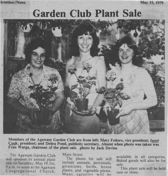 Agawam, Garden Club Plant Sale