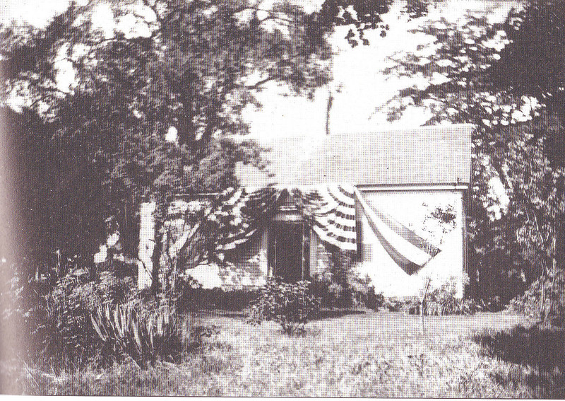 Agawam 41 Elm St with bunting