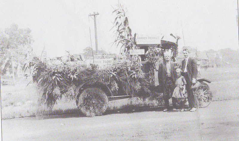 Agawam Hampden County Float 1922