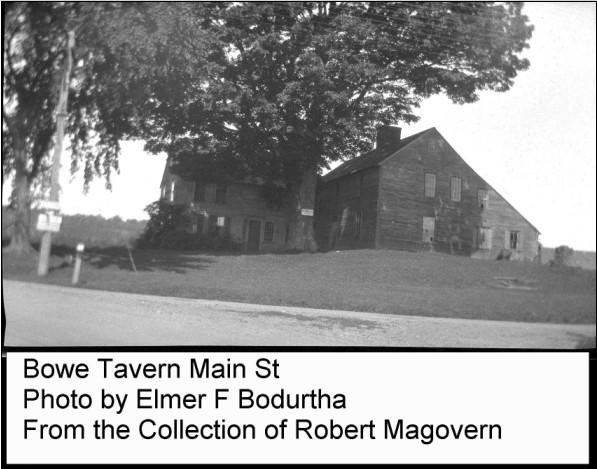 Agawam Bowe Tavern By Elmer Bodurtha