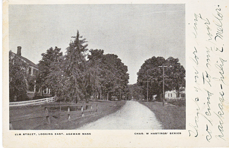 Agawam Elm St Looking East