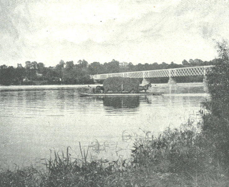 Agawam Ferry below South End Bridge
