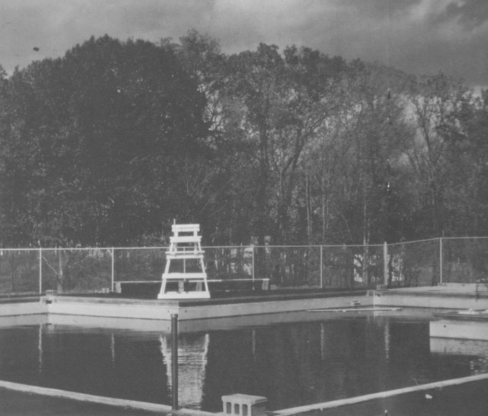 Agawam First Community Swimming Pool 1962