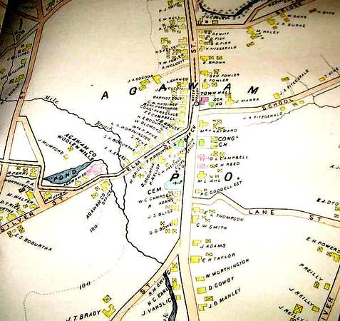 Agawam 1894 Richards Map