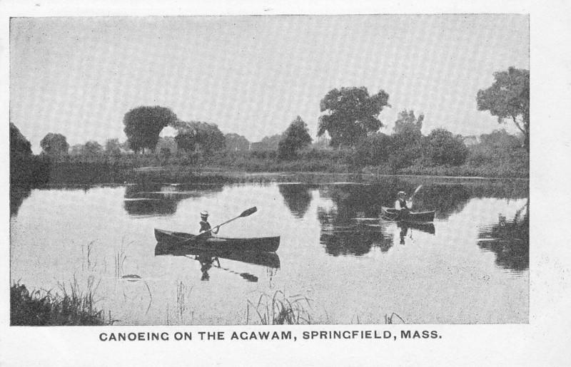 Agawam Canoeing on the Agawam