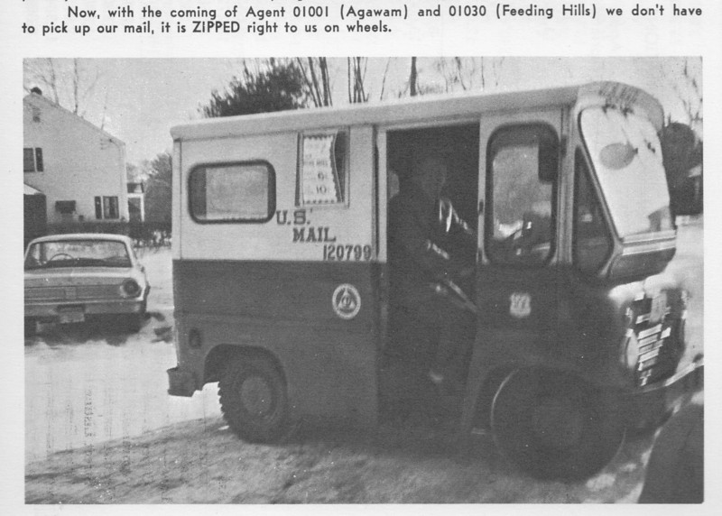Agawam Mail Truck