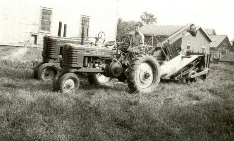 Feeding Hills Farm Equipment 1948