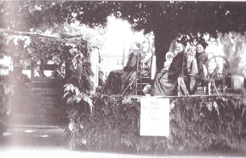 Agawam 1930 Women's Float