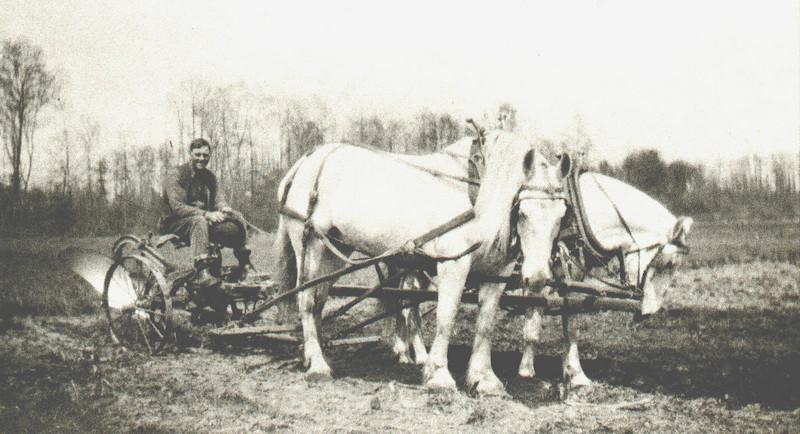 Feeding Hills Al Kellogg ready for Plowing