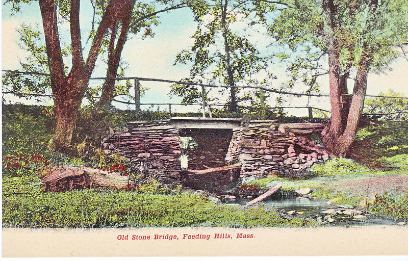Agawam Feeding Hills Old Stone Bridge