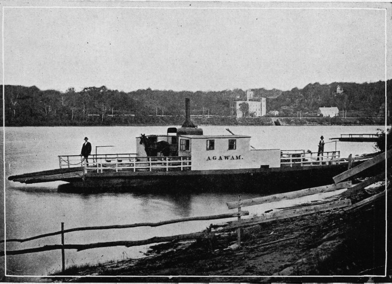 Agawam Ferry before So End Bridge