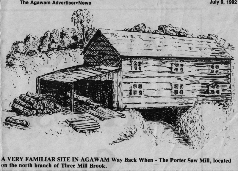 Agawam Porter Saw Mill