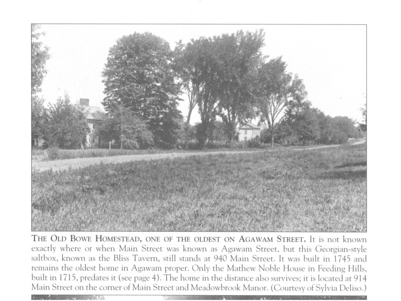 """This is one of the images from the """"Agawam and Feeding Hills"""" book that David Cecchi did for the Agawam Historical Association."""