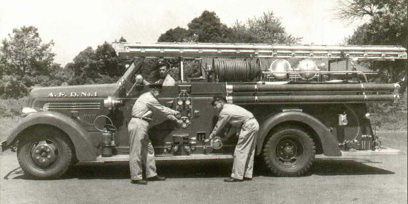 Agawam Fire Station 1 1949 Seagrave