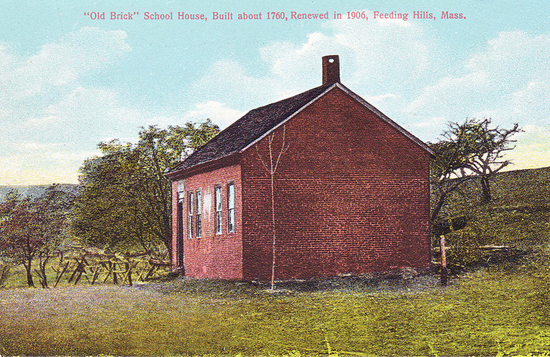 Agawam Old Brick School House