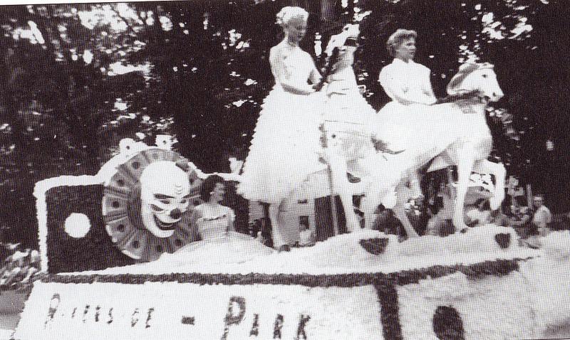 Agawam Riverside Float 1955