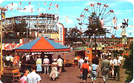 Agawam Riverside park in 50-60s