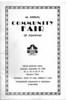 Agawam Community Fair 1936