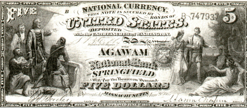 Agawam Agawam National Bank note