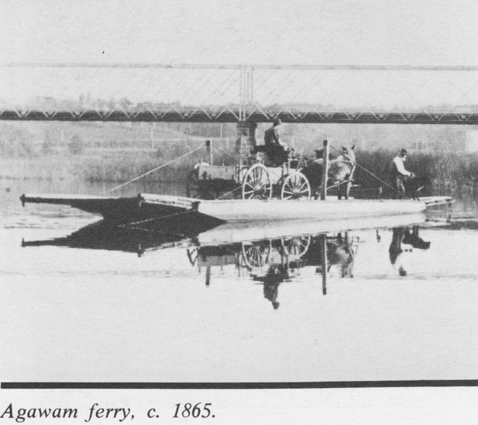 Agawam Ferry c 1865