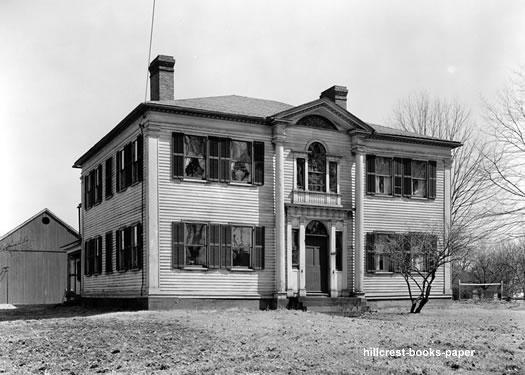 Agawam Leonard House c1934