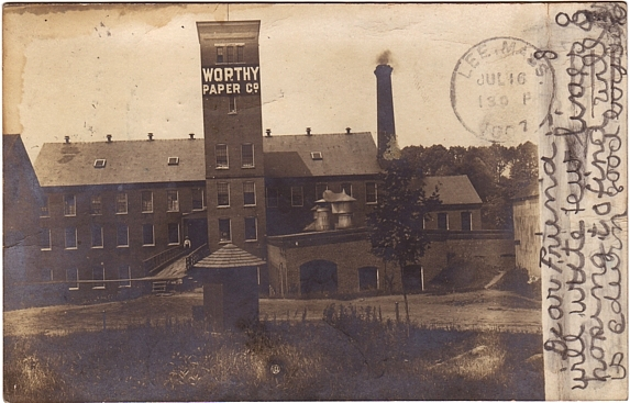 Agawam Worthy Paper Mill R P