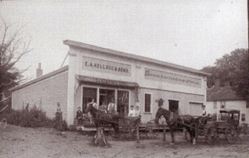 Howes Bros E A Kellog Store