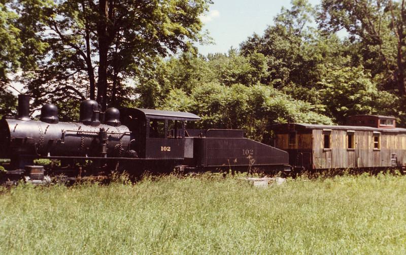Agawam Carlson's Train