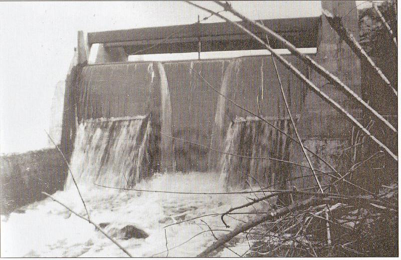 Agawam Woolen Mill Dam