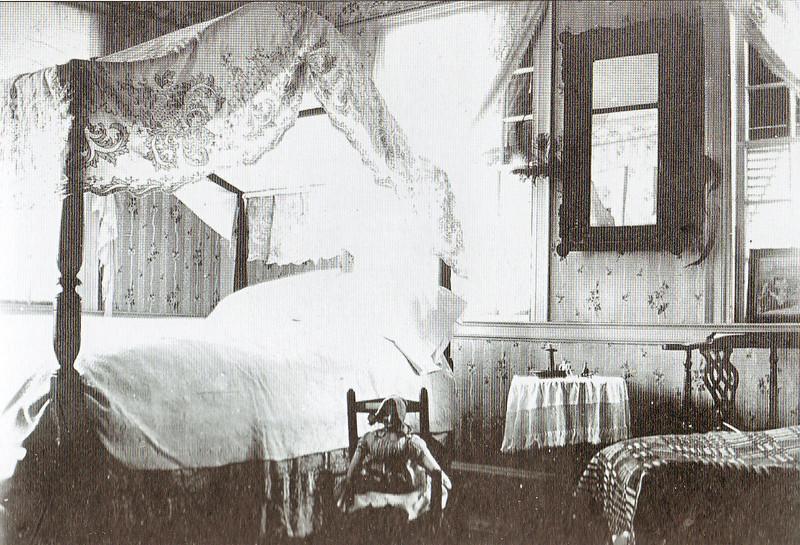 Agawam Leonard House Bedroom 1905