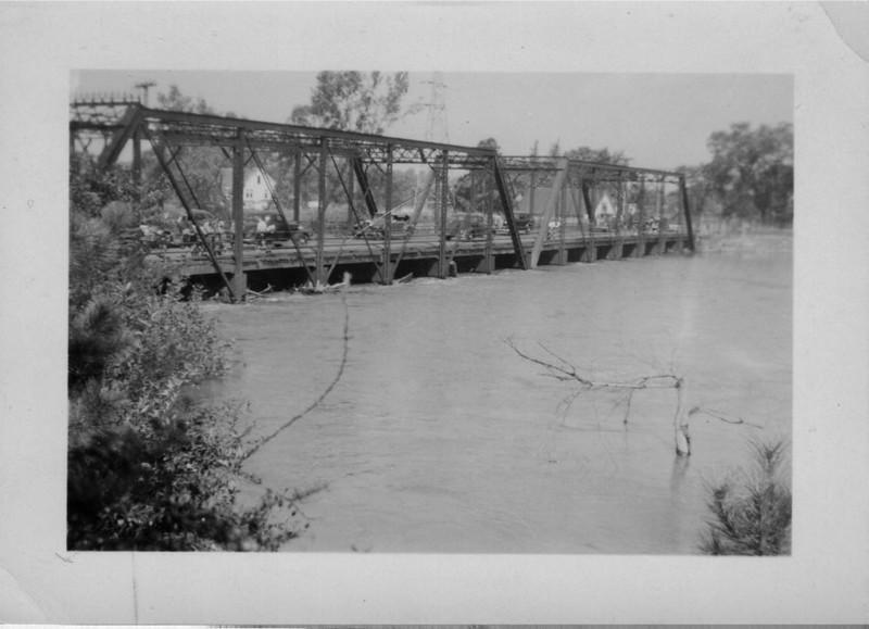 Agawam South End Bridge Upstream Side